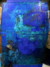 Waldemar Kuczma, Niebieska Ikona, 160x148, 2015