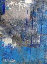 Błękitny znak, 81x119cm